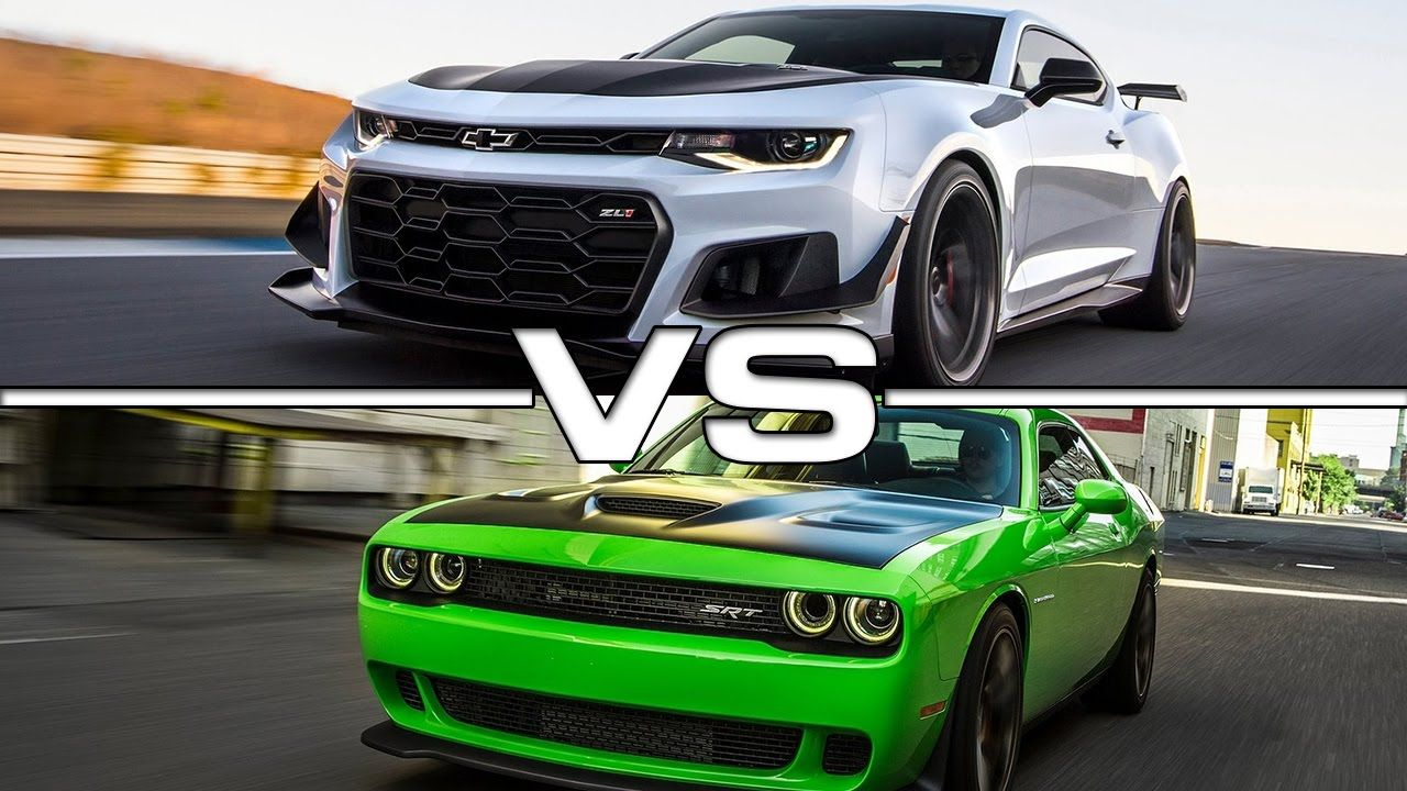 Dodge Charger SRT Hellcat vs Chevrolet Camaro ZL1
