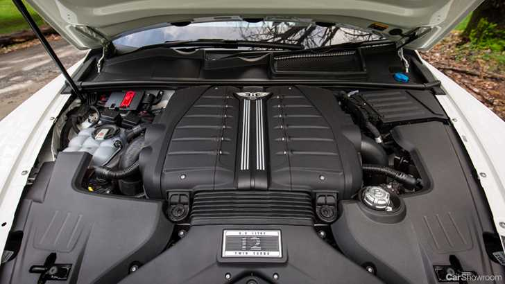 2019 Bentley Bentayga engine