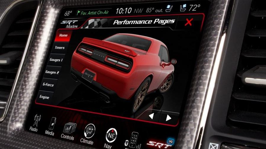 2019 Dodge Charger Infotainment Screen