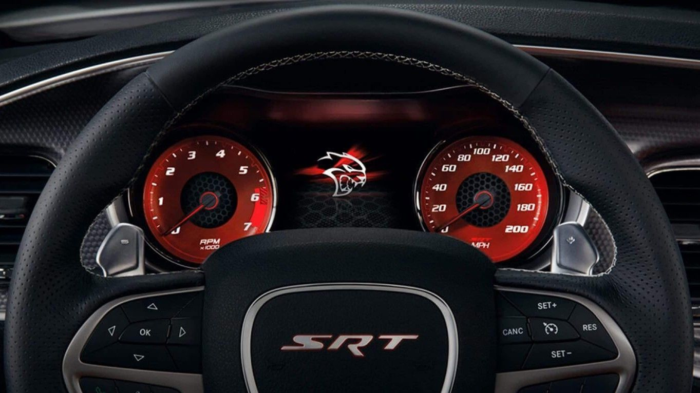 2019 Dodge Cherger SRT Hellcat Instrument Cluster