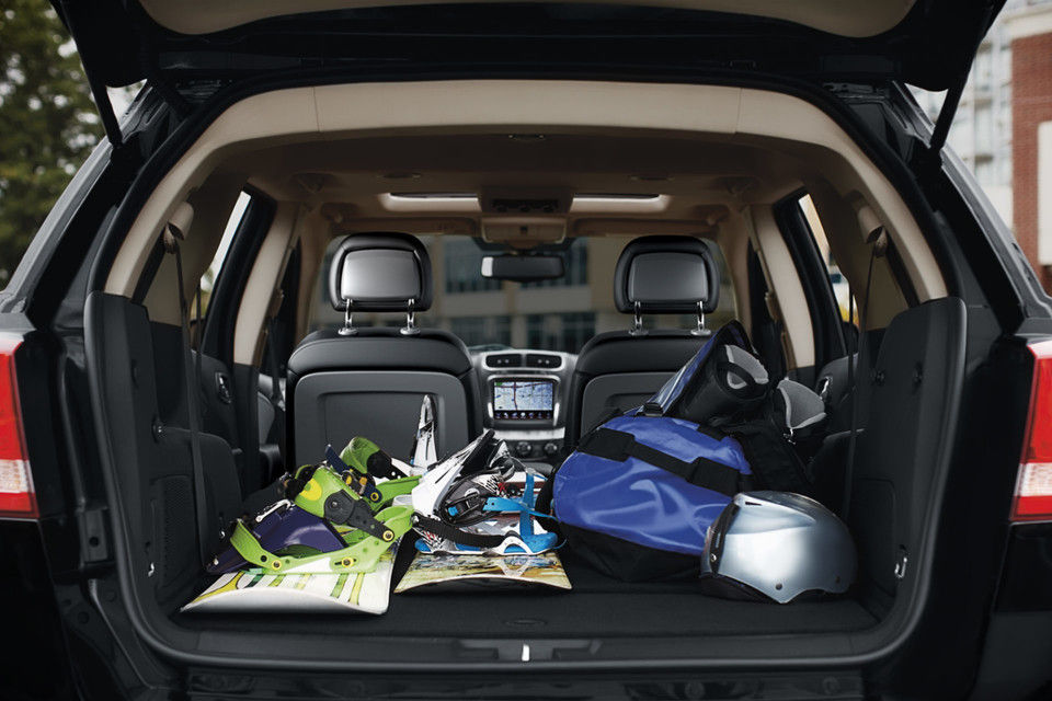 2019 Dodge journey cargo space