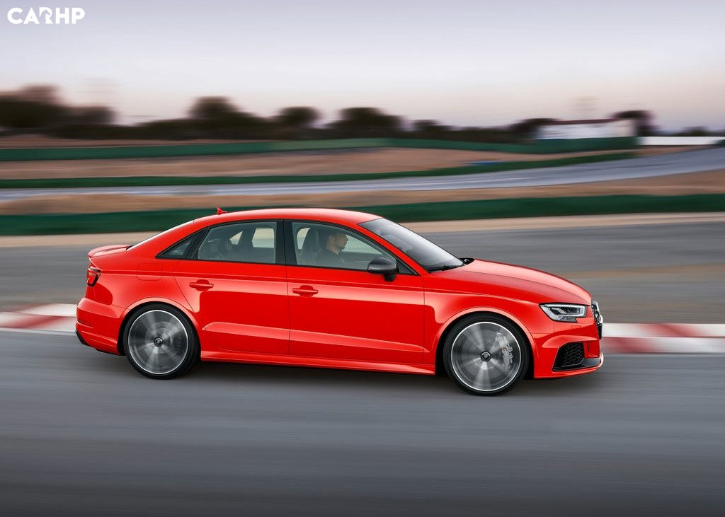 2020 Audi RS3 side view