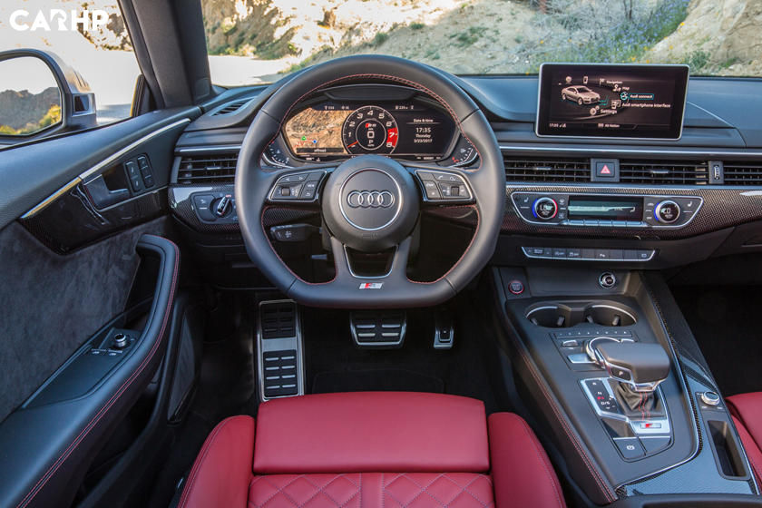 2019 Audi S5 Coupe steering