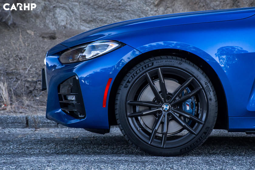 2021 BMW 4 Series Coupe exterior image