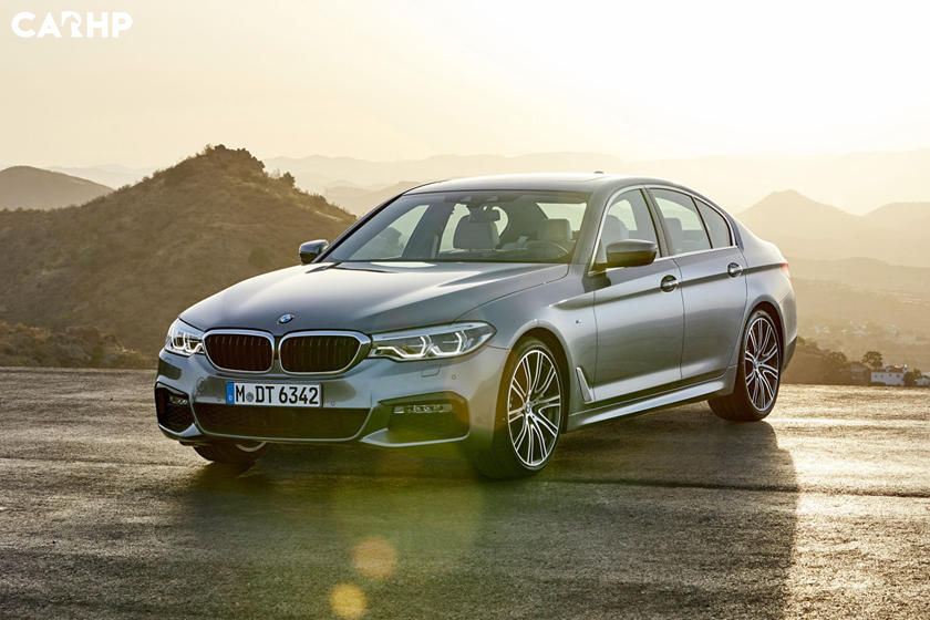 2020 BMW 5 series front view
