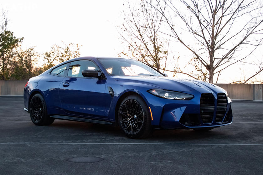 2021 BMW M4 Coupe exterior image