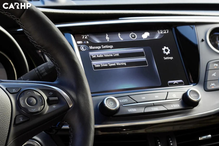 2020 Buick Envision infotainment