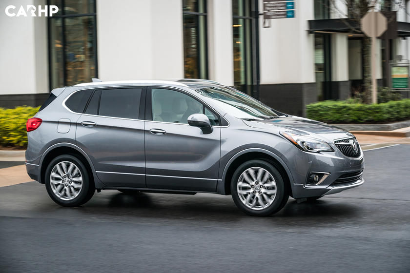 2020 Buick Envision side view