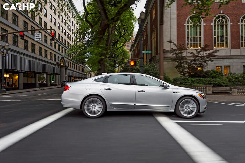 2019 Buick Lacrosse side view