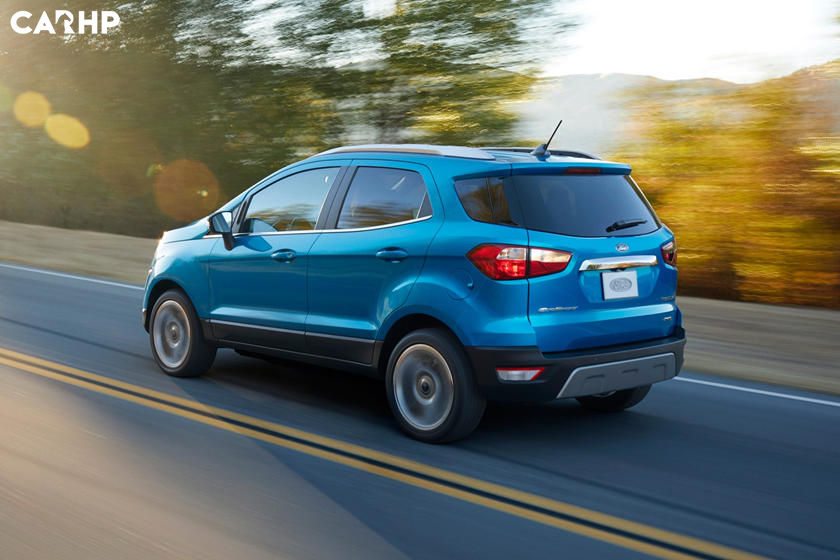 2020 Ford Ecosport rear view