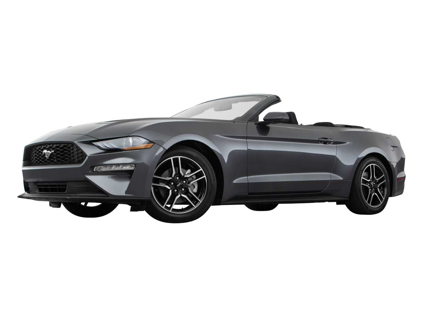 2020 Ford Mustang Ecoboost Convertible Front 3 Quarters