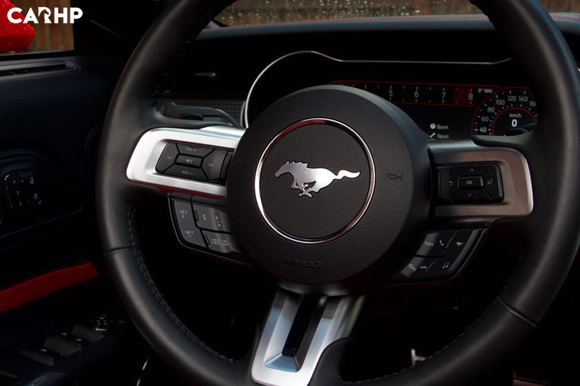 2020 Ford Mustang GT Convertible steering