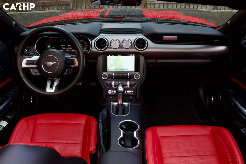   2021 Ford Mustang GT Convertible interior image