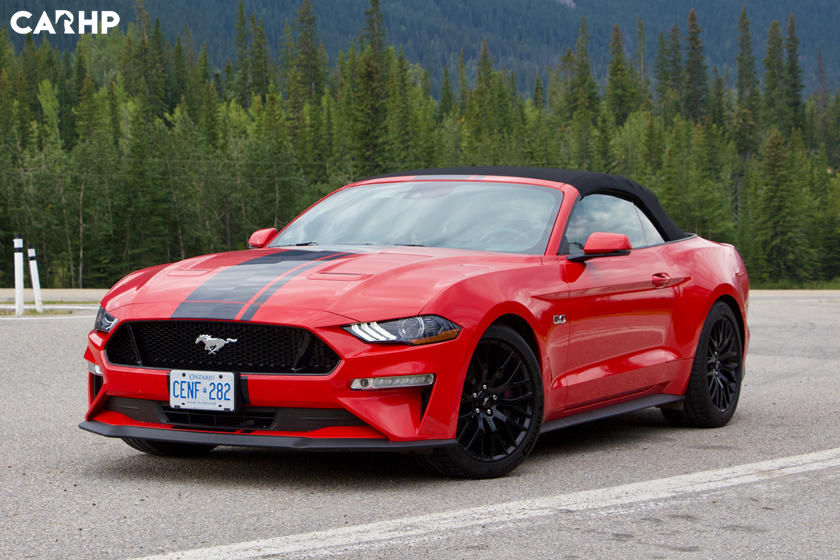   2021 Ford Mustang GT Convertible exterior image