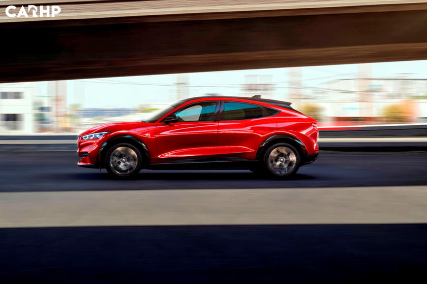 2021 Ford Mustang Mach-e SUV exterior image