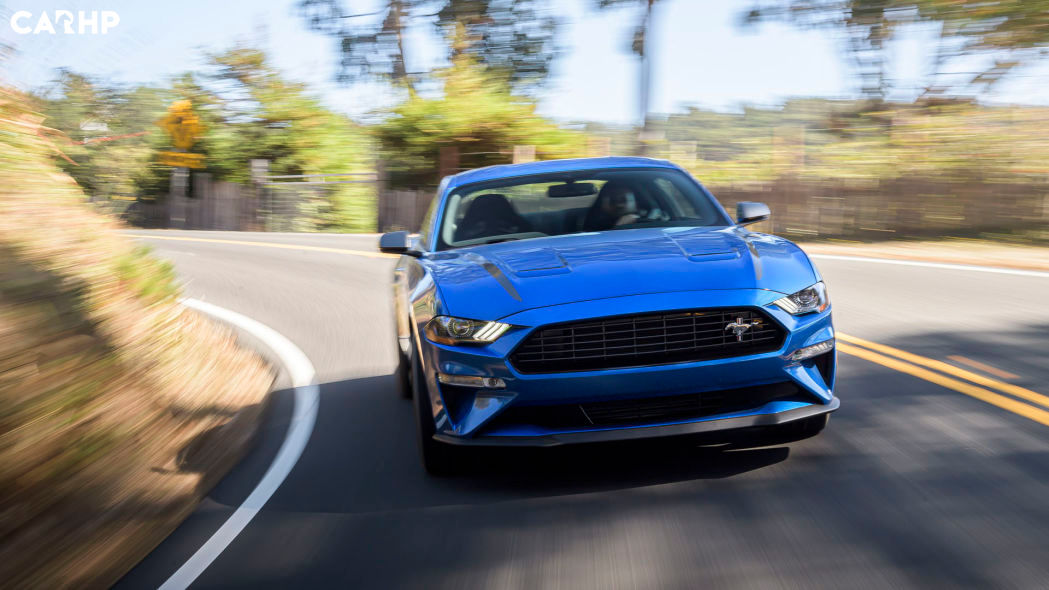 2022 Ford Mustang Coupe exterior image