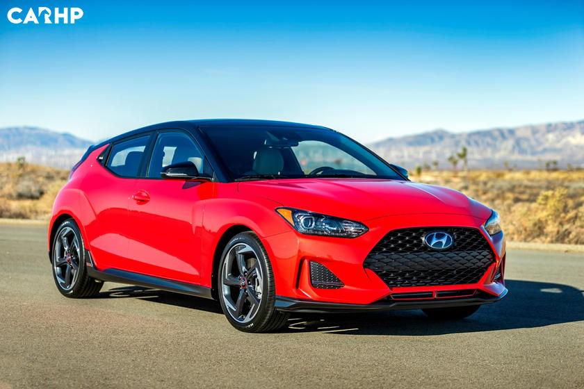 2020 Hyundai Veloster front view