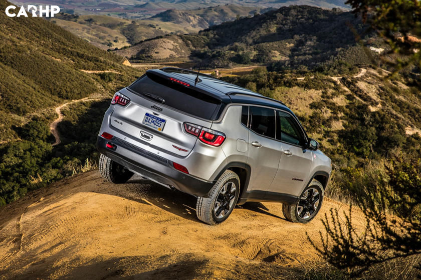 2020 Jeep Compass rear view