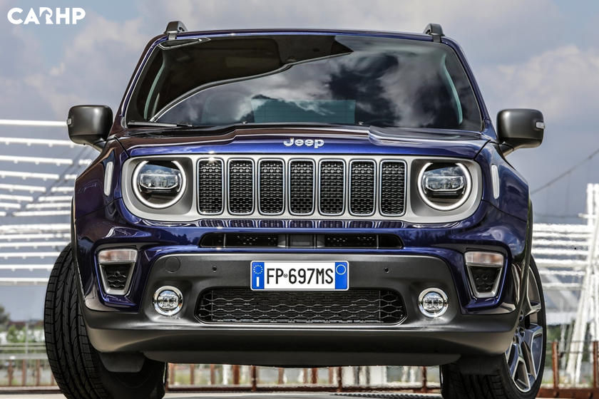 2020 Jeep Renegade front view