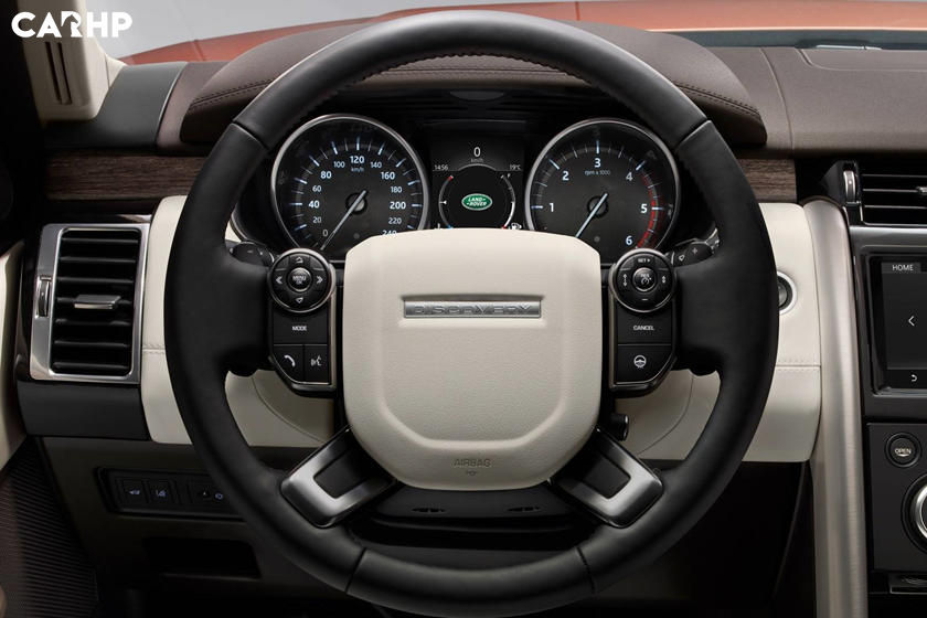 2020 Land Rover Discovery steering