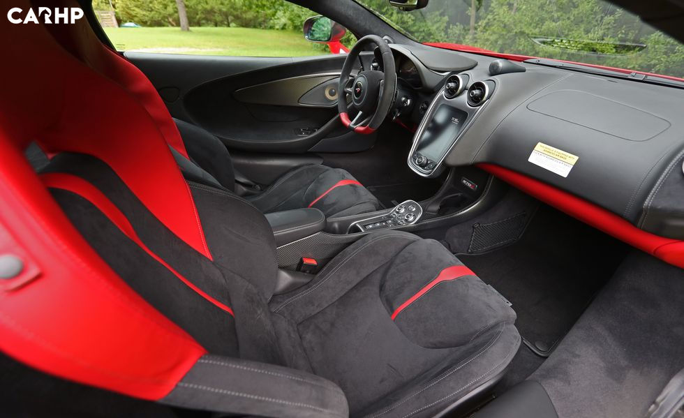 2020 Mclaren 570s coupe front seat