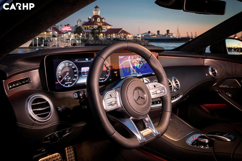 2021 Mercedes-Benz AMG S 63 Coupe interior image