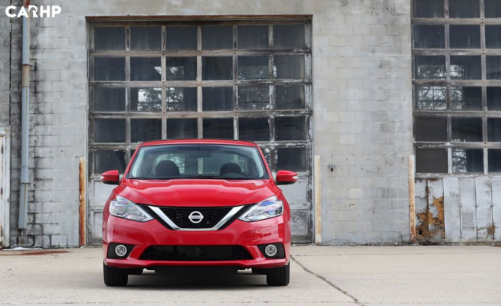 2020 Nissan Sentra front view