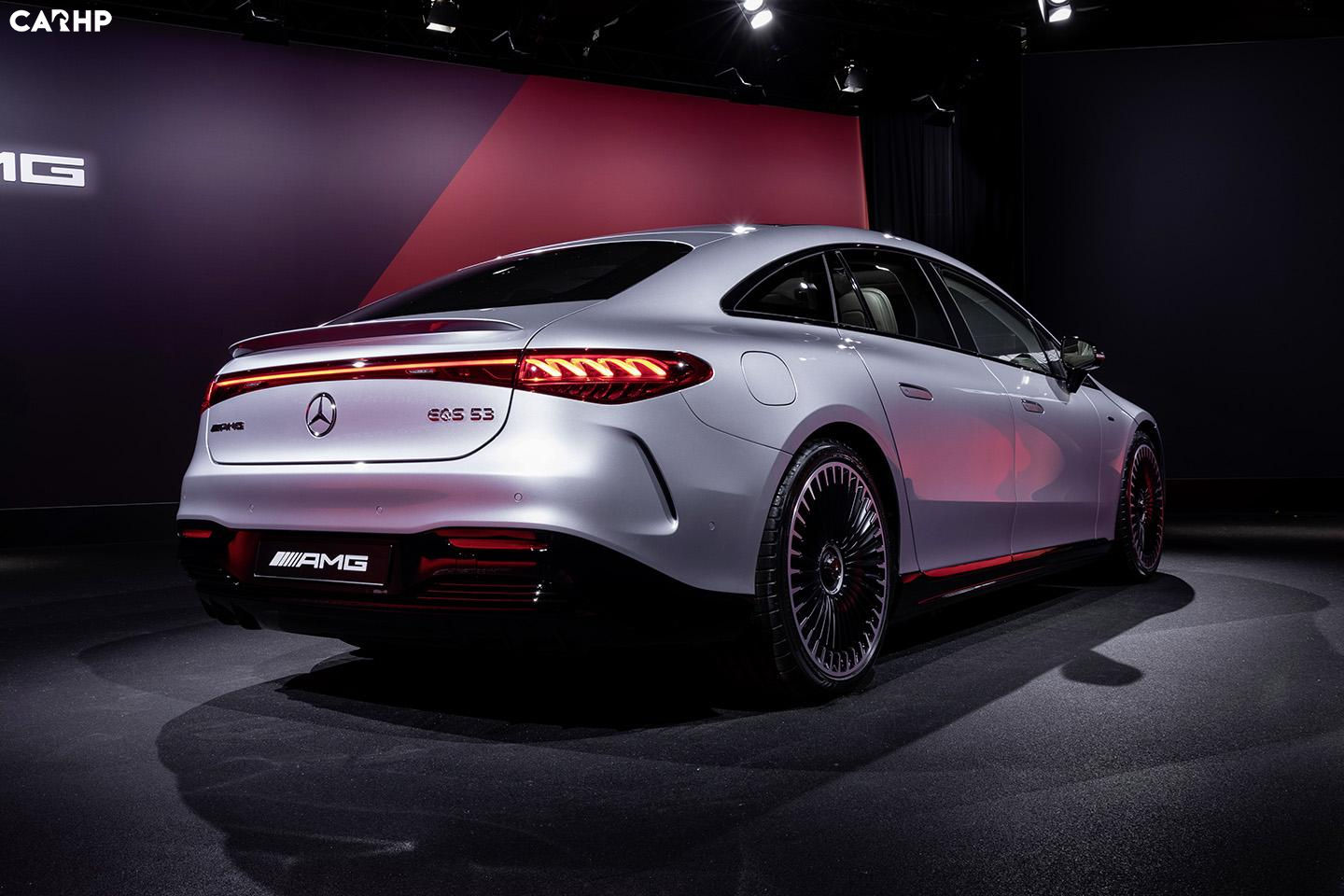 Mercedes-AMG EQS 53 4MATIC+ debuts with a blast of 761hp