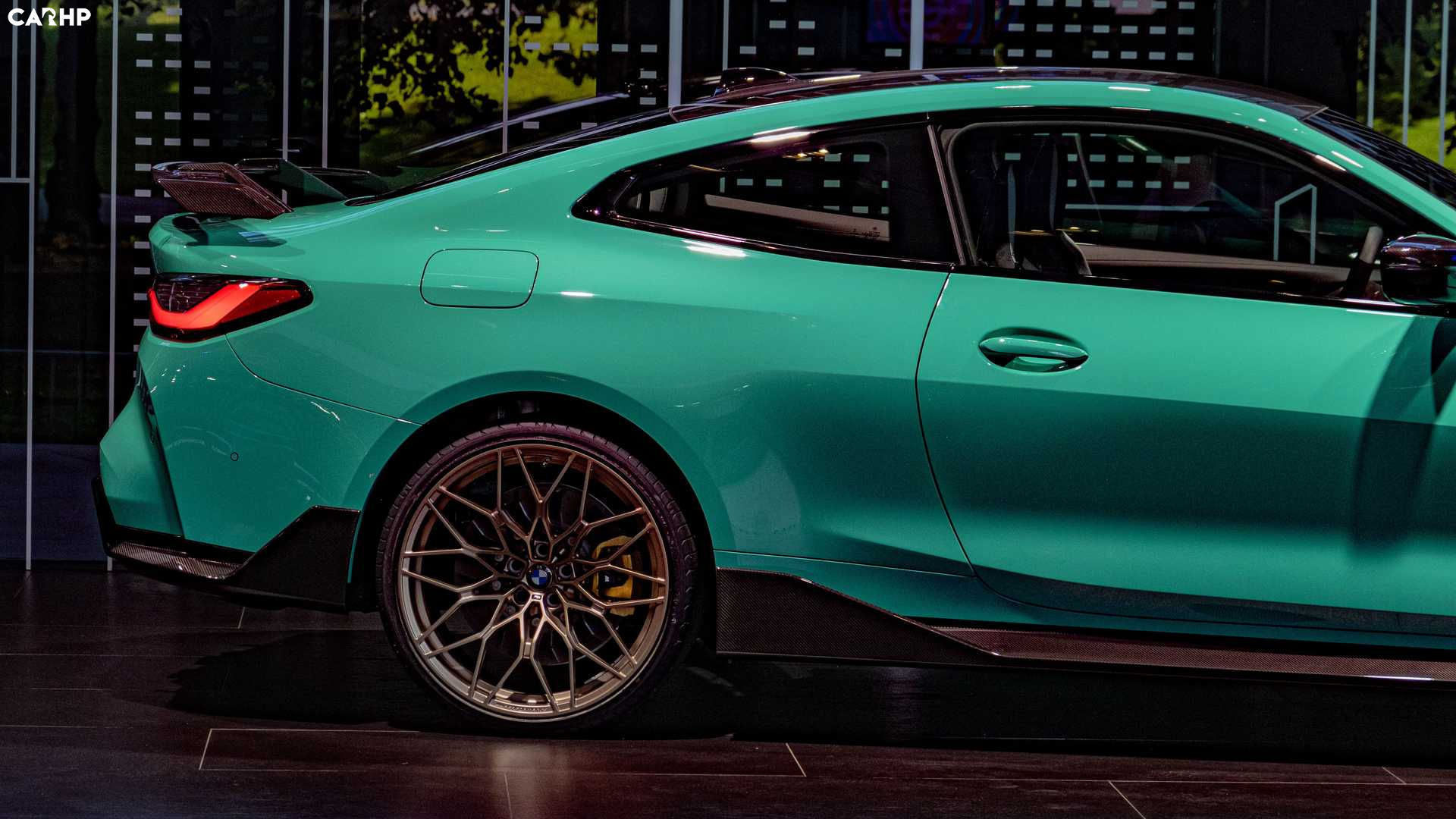 Soothing Look of the Minty Green BMW M4 Competition at 2021 IAA