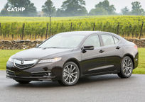 2017 Acura TLX's exterior image