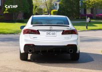 2018 Acura TLX's exterior image