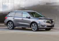 2017 Acura MDX hybrid SUV Right Side View