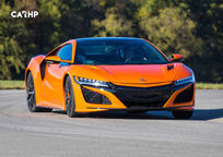 2019 Acura NSX hybrid Front View