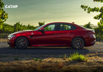 2020 Alfa Romeo Giulia Left Side View