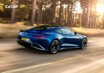 2018 Aston Martin Vanquish S Rear 3 Quarter View
