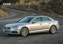 2018 Audi A4 Left Side View