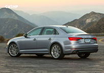 2018 Audi A4 Rear 3 Quarter View