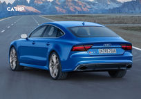 2018 Audi RS 7's exterior image