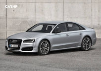 2018 Audi S8 Left Side View