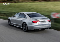 2018 Audi S8 Rear 3 Quarter View