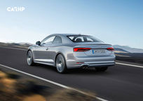 2019 Audi A5 Rear 3 Quarter View