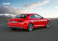 2019 Audi S5 Rear 3 Quarter View
