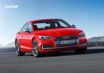 2019 Audi S5 Front View