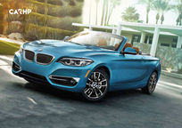 2019 BMW 2 Series Convertible 3 Quarter View