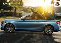 2019 BMW 2 Series Convertible Left Side View