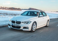 2017 BMW 3 Series plug-in hybrid Sedan exterior