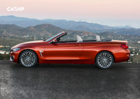2019 BMW 4 Series Convertible Left Side View