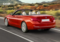 2019 BMW 4 Series Convertible's exterior image
