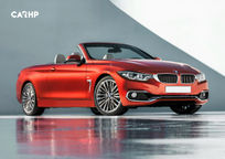 2019 BMW 4 Series Convertible 3 Quarter View
