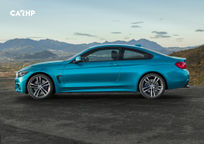 2020 BMW 4 Series Left Side View